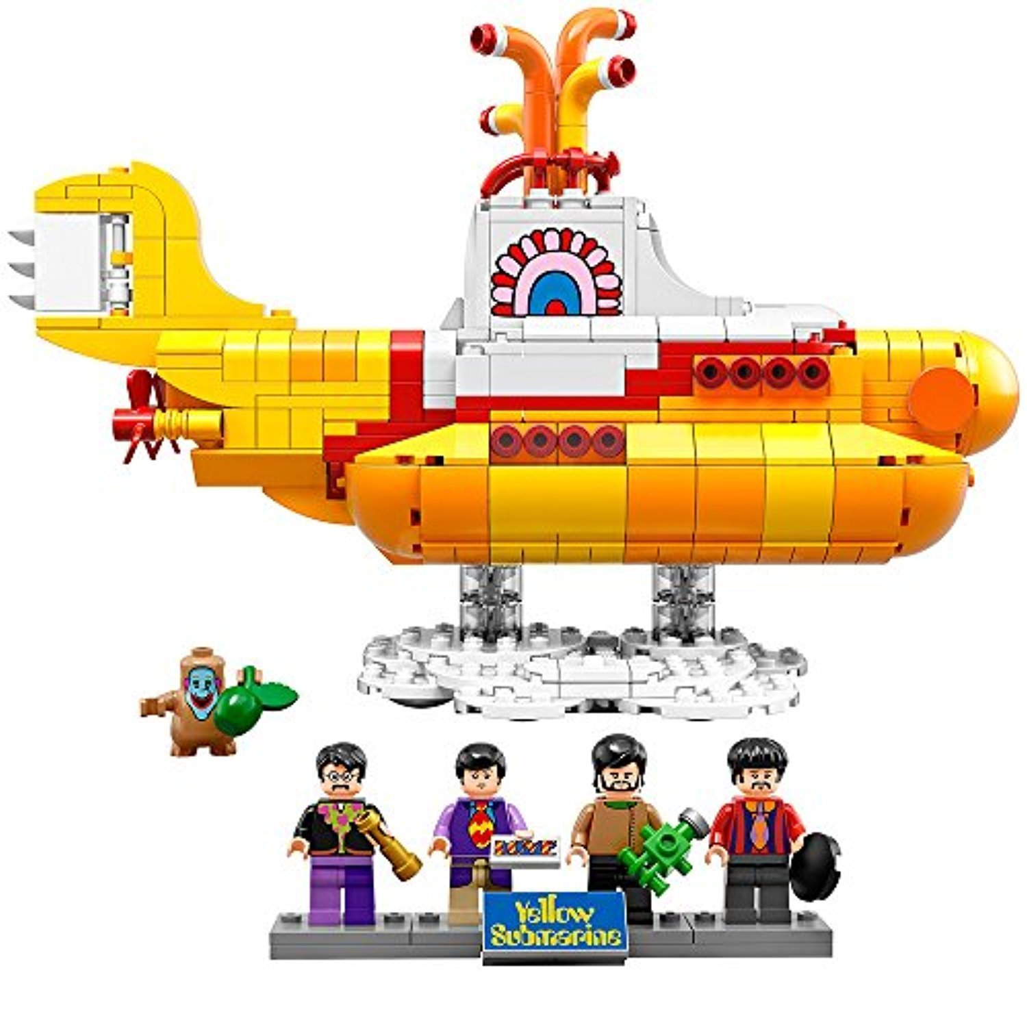○送料込○ レゴ専門 LEGO Ideas 21306 Yellow Submarine