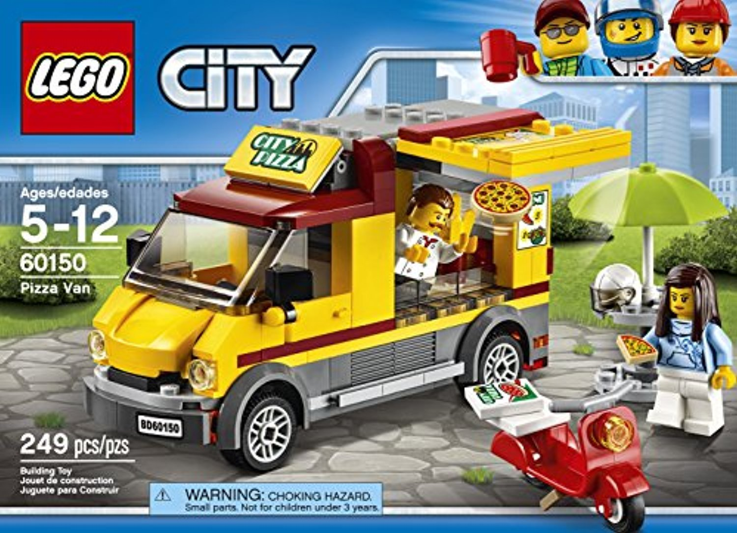 ○送料込○ レゴ専門 LEGO City Great Vehicles Pizza Van