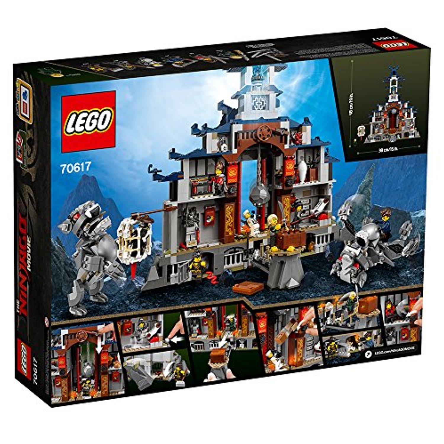 ○送料込○ レゴ専門 LEGO Ninjago Movie Temple Ultimate