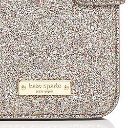 Kate Spade★手帳型★Glitter Wrap Folio iPhone 7 / 8 Case