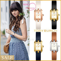 【破格☆SALE】Tory Burch DALLOWAY LEATHER  WATCH 4色