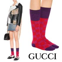 【Gucci☆送関込】Runway*Flame × Dark Purple ソックス
