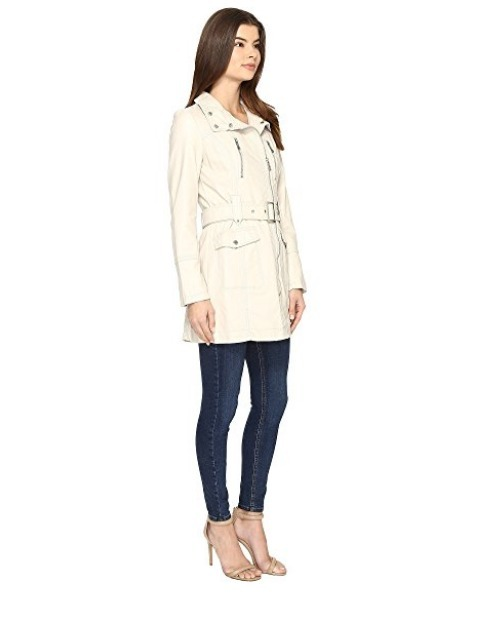 Kenneth Cole New York Belted City Coat