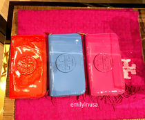 新作SALE TORY BURCH★STACKED PATENT 長財布*全色