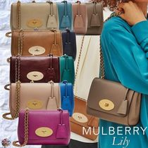 Mulberry☆Lily チェーン ショルダー クロスボディ バッグ