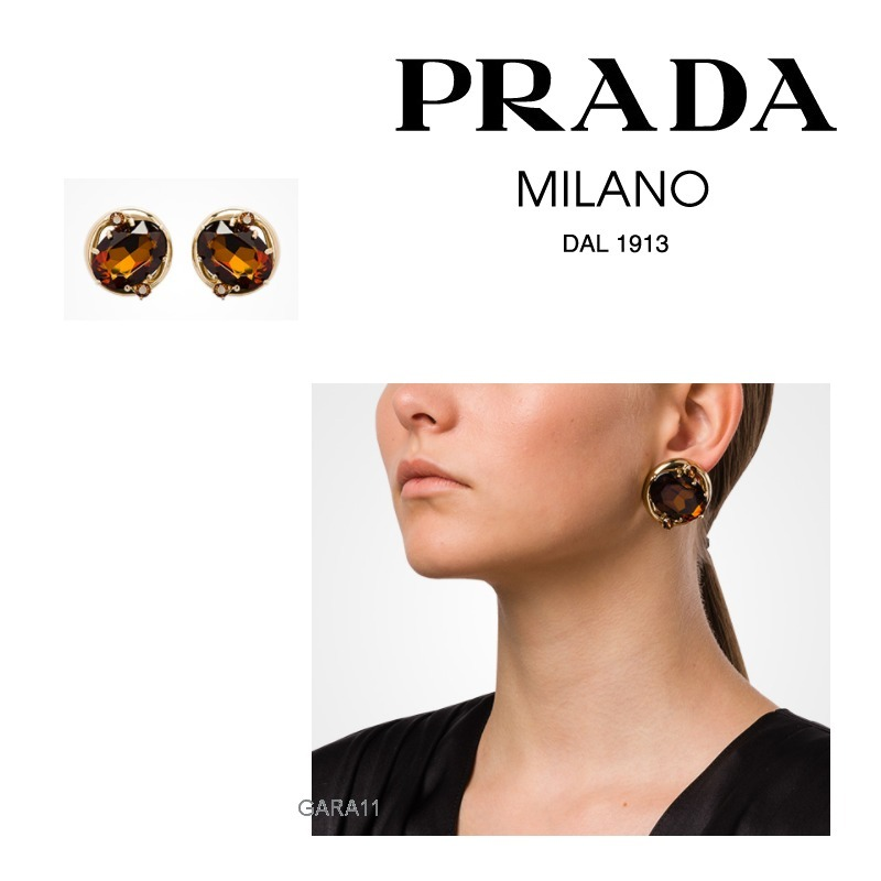 ●PRADA●冬新作♪Silver earrings
