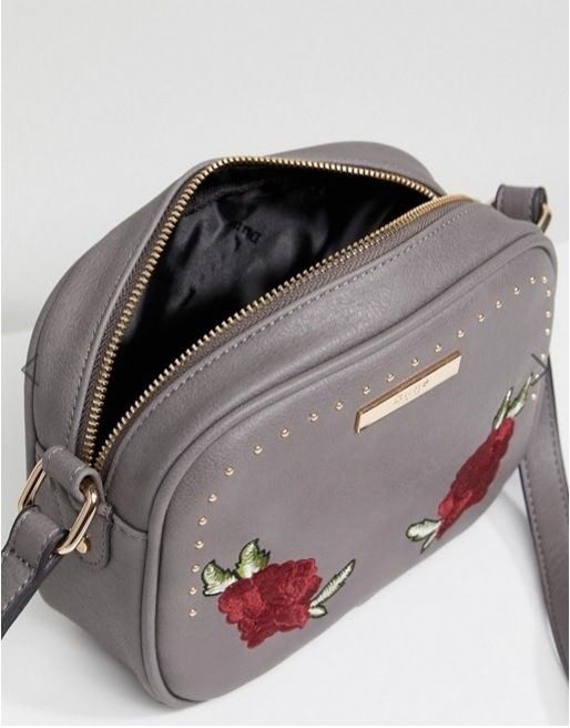 Dune Alex Embroidered Floral Camera Across Body Bag