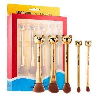 MOSCHINO  BEAR BRUSH SET