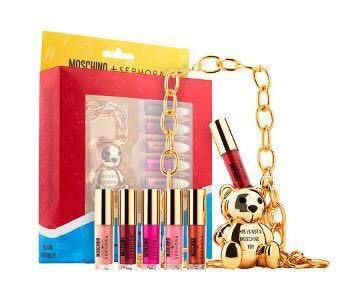 MOSCHINO  BEAR LIP GLOSS CHAIN