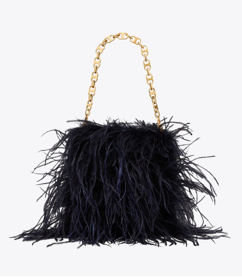 FEATHER BAG