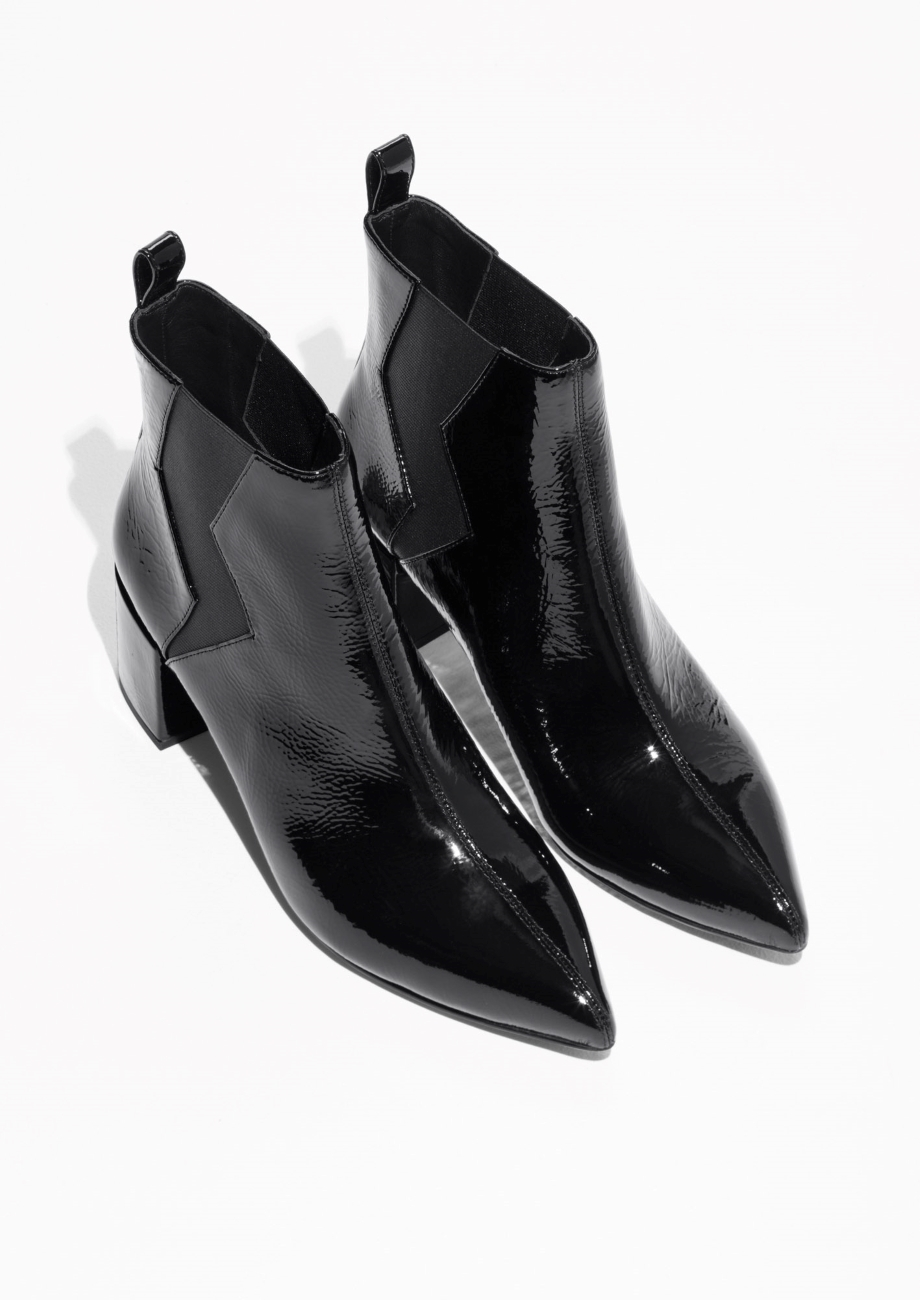 日本未入荷☆& Other Stories☆Patent Leather Boots
