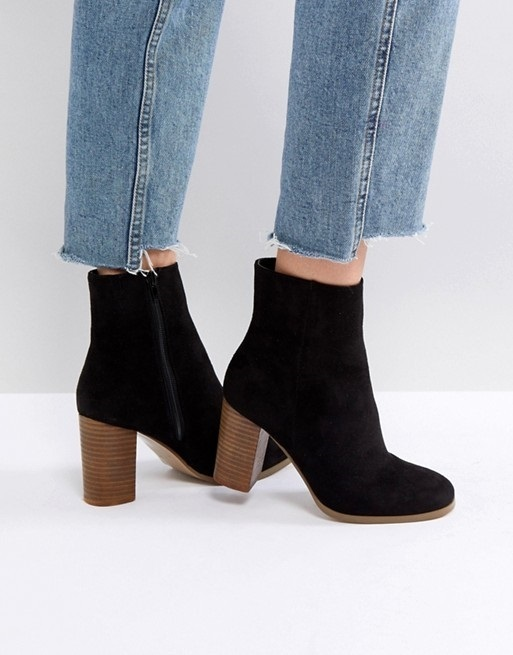 ASOS ELITA Heeled Ankle Boots♪
