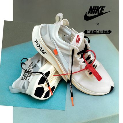 """THE 10"" NIKE ZOOM FLY × OFF-WHITE ☆ ズーム フライ"