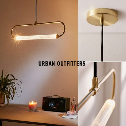 ☆Urban Outfitters *アクリル*ペンダントライト☆送関込