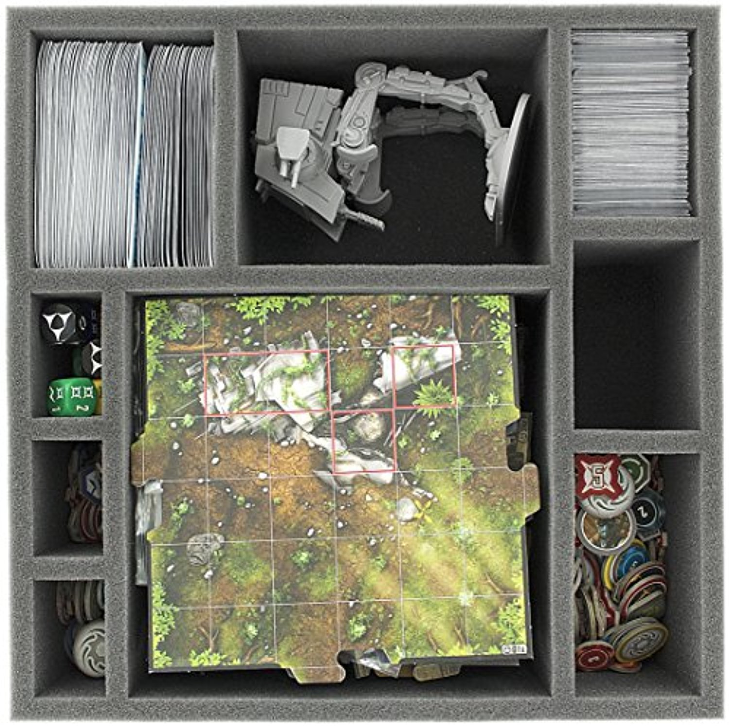 Foam tray set for Star Wars Imperial Assault board game box