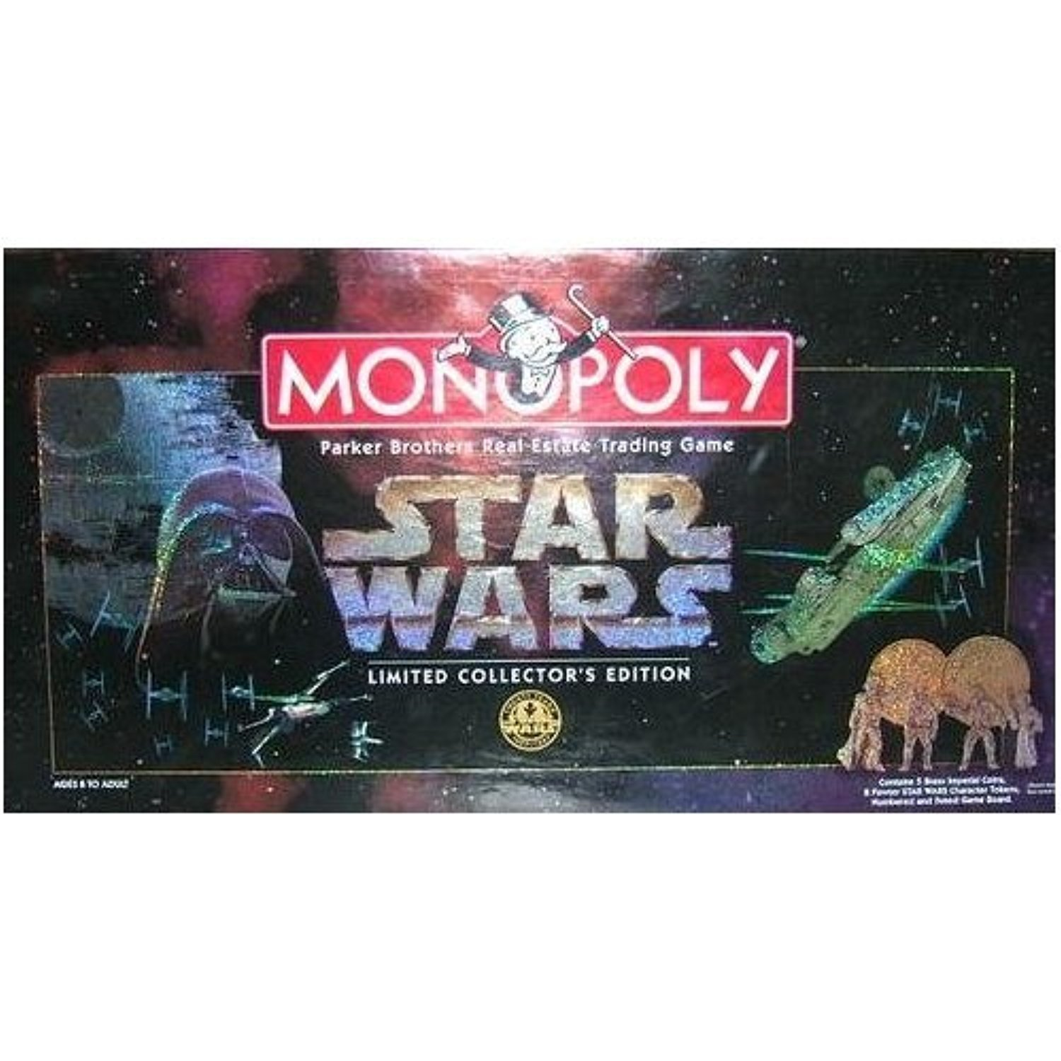Monopoly 1997 Star Wars Monopoly Limited Collector'S 20Th