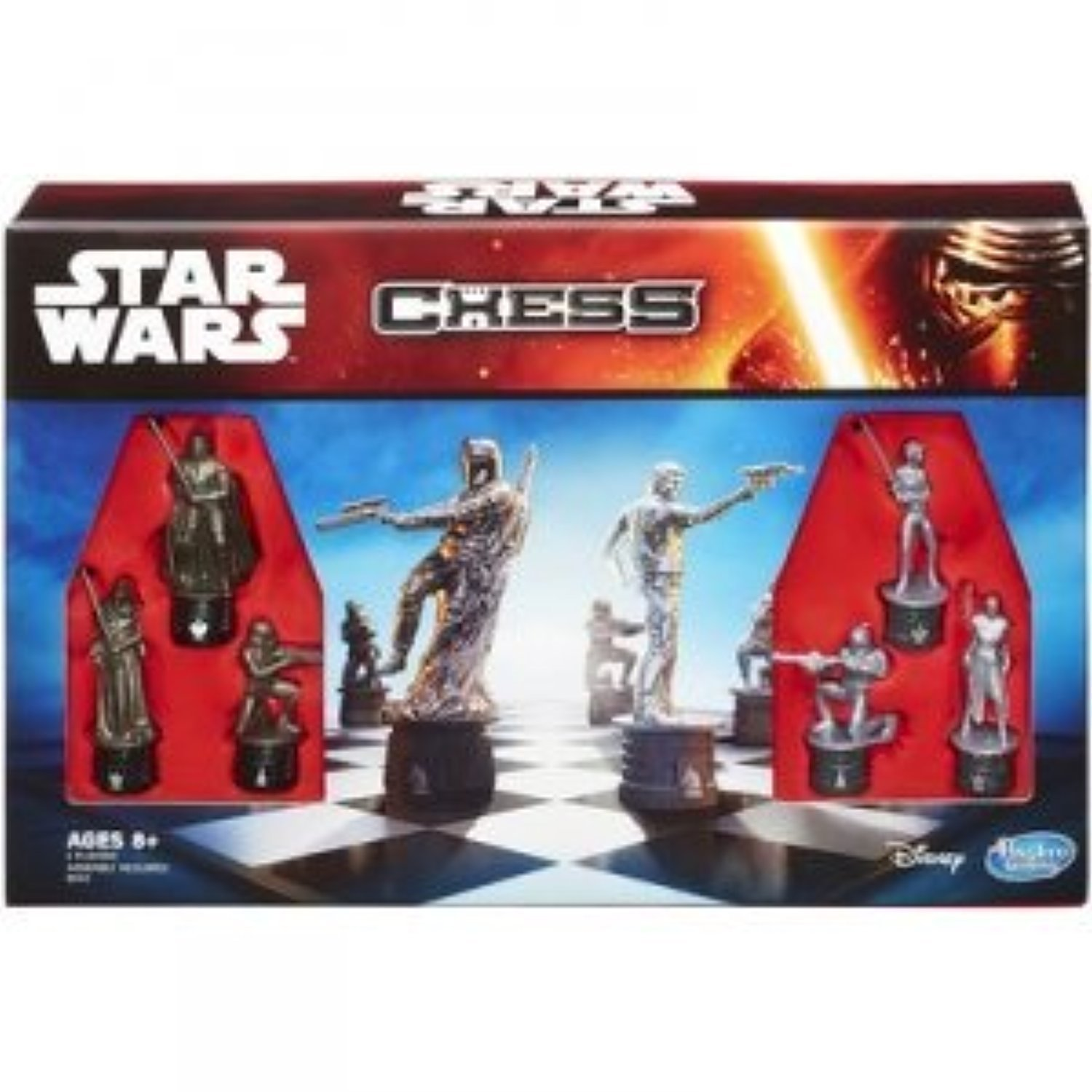 Star Wars Battle Chess Game, Pieces Includes Villains &