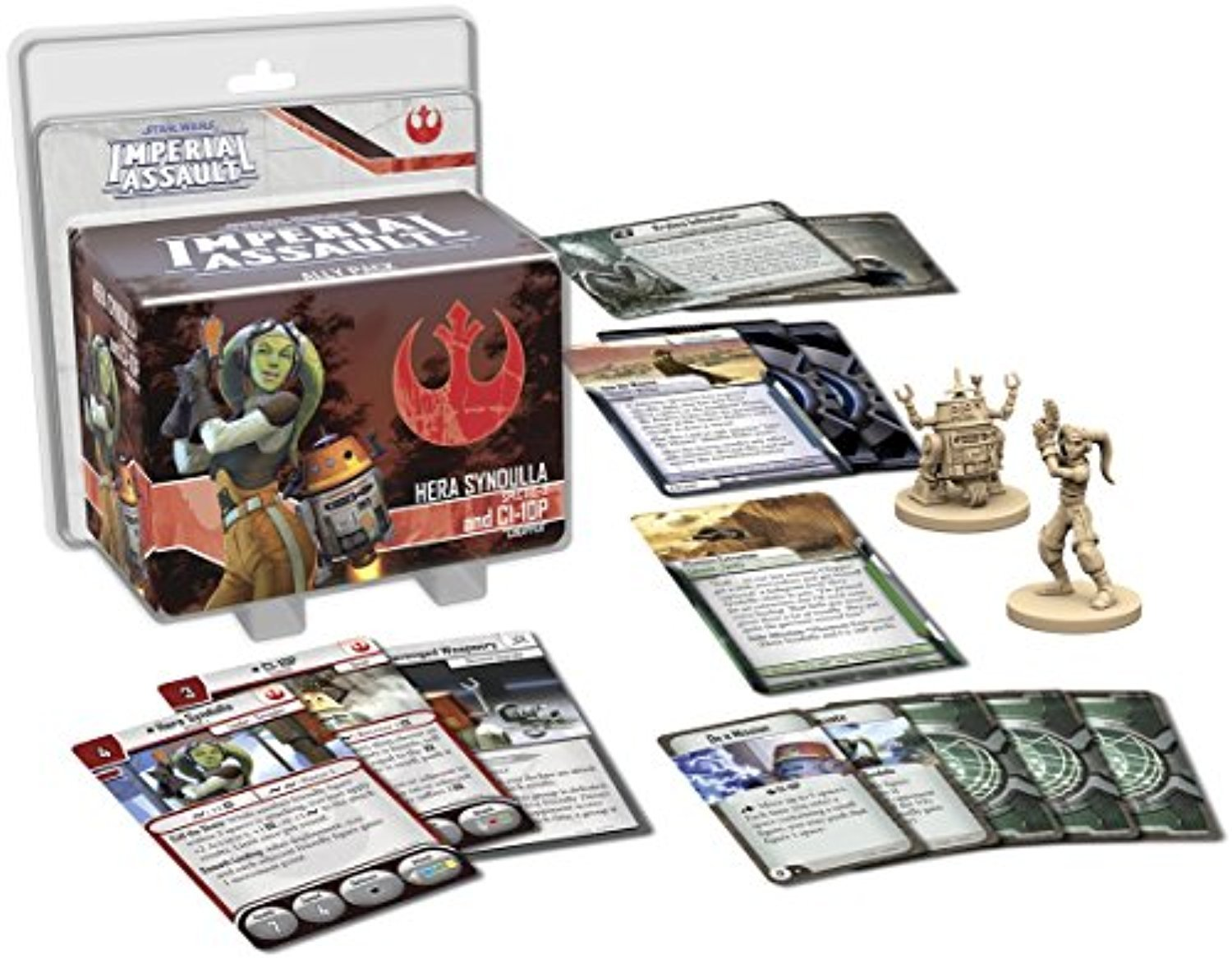 Imperial Assault Hera Syndulla and C1-10P