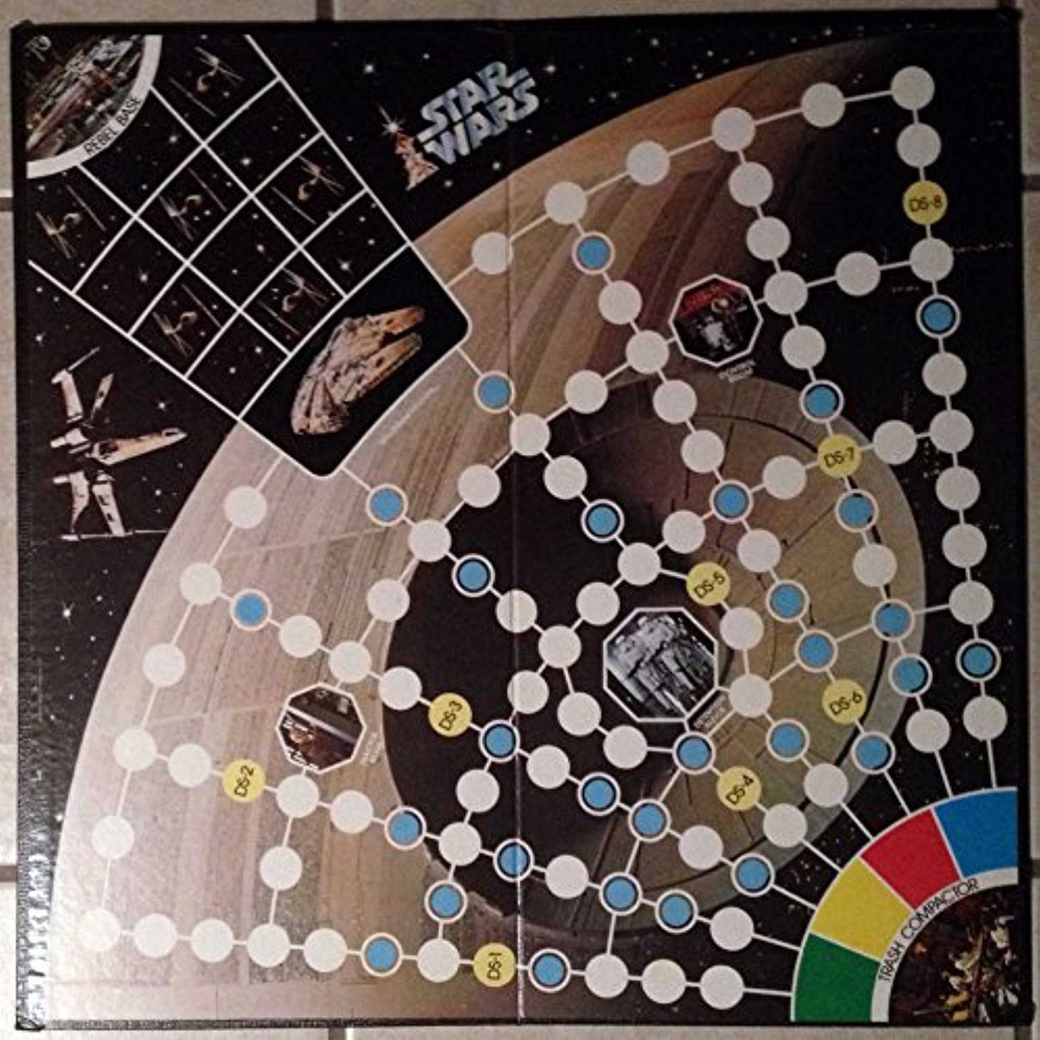 Star Wars Escape From Death Star 1977 Board Game
