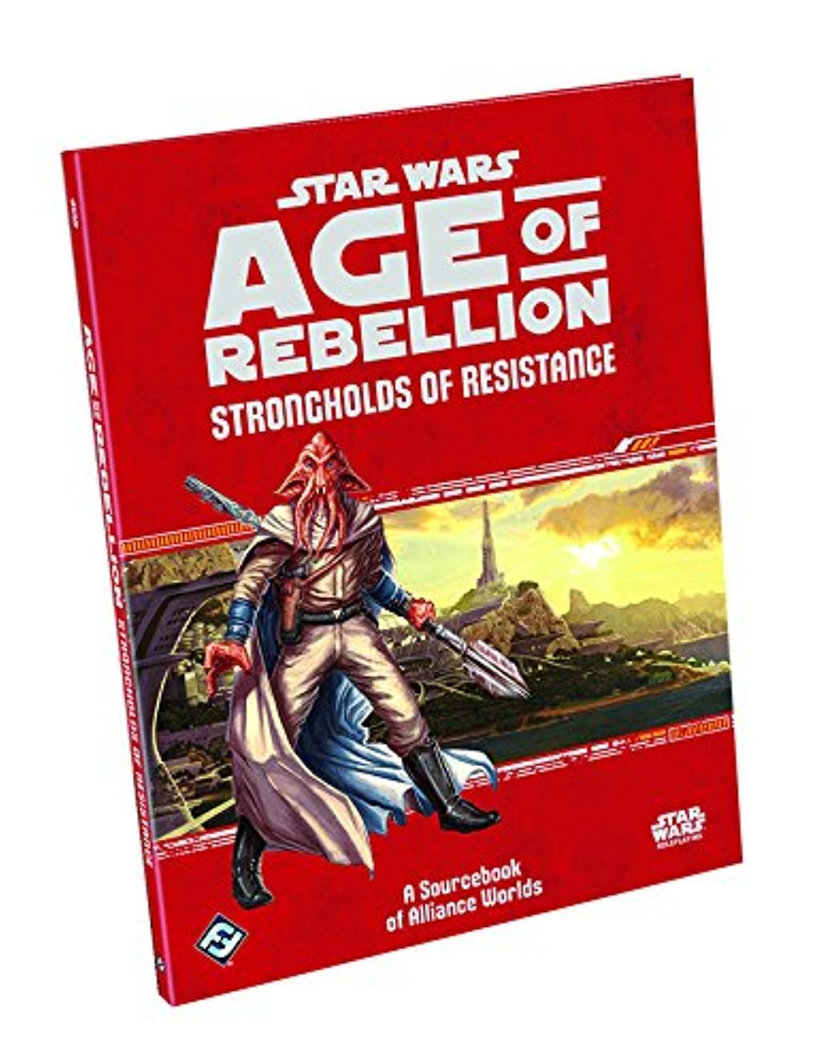 Star Wars Age of Rebellion: Strongholds of Resistance Book