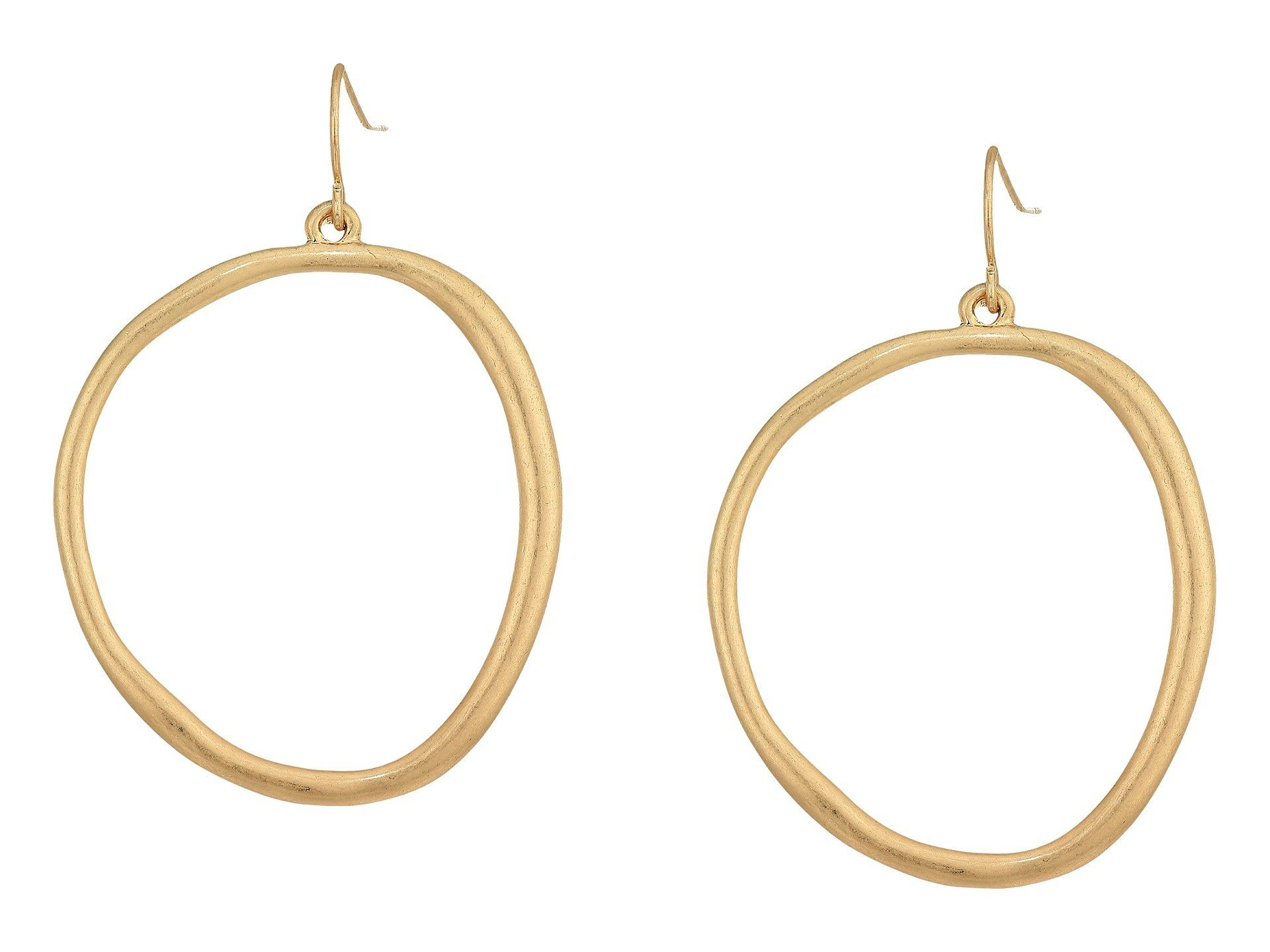 the SAK★Large Hoop Drop Earrings▽送料関税込