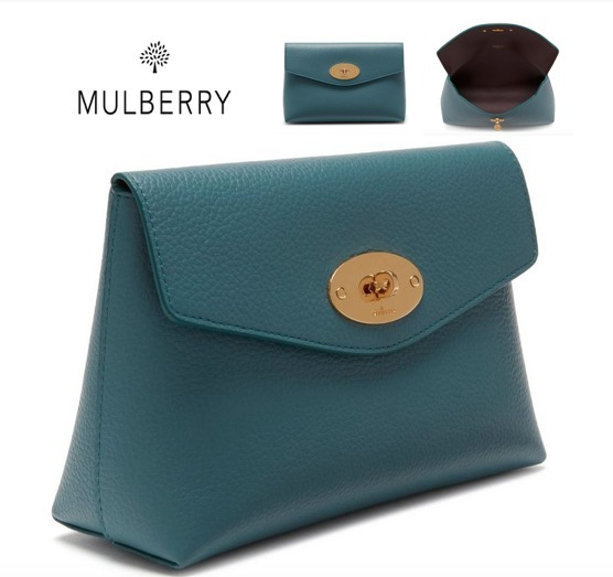NEW♪【Mulberry】Darley Cosmetic Pouch