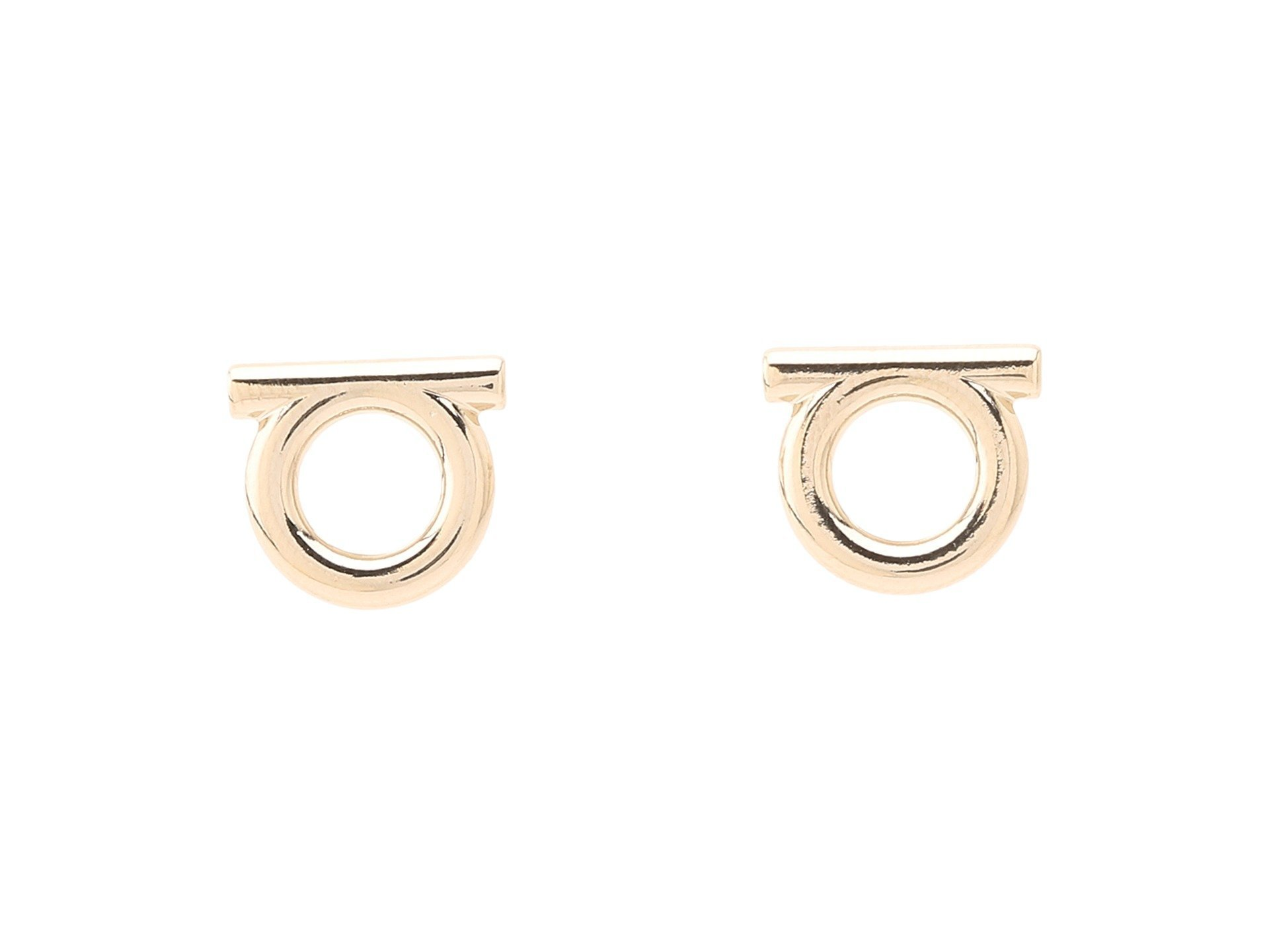 Salvatore Ferragamo★Brand Stud Earrings▽送料関税込