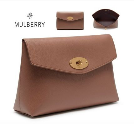 Mulberry メイクポーチ NEW♪【Mulberry】Large Darley Cosmetic Pouch