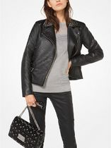 ☆Michael Kors☆ コート♪ Studded Faux-Leather Jacket
