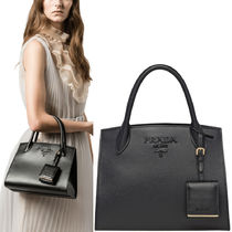 PR856 PRADA MONOCHROME SAFFIANO LEATHER SMALL BAG