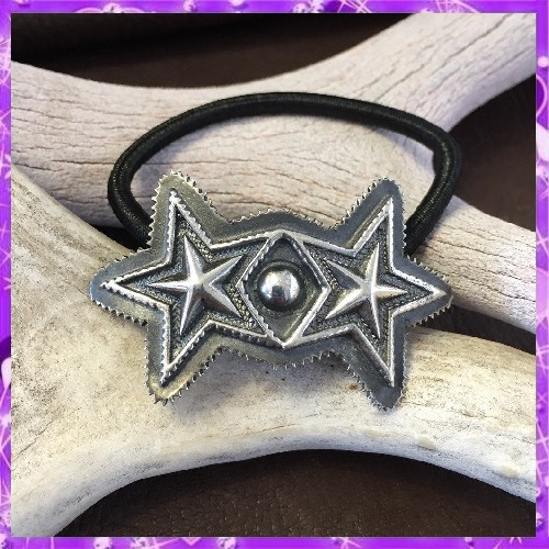 即発!★Cody Sanderson/Double Sheriff Star Hair Tie/Bracelet