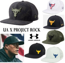 UNDER ARMOUR (アンダーアーマー ) キャップ ★限定品★UNDER ARMOUR UA x プロジェクトロック キャップ 6種