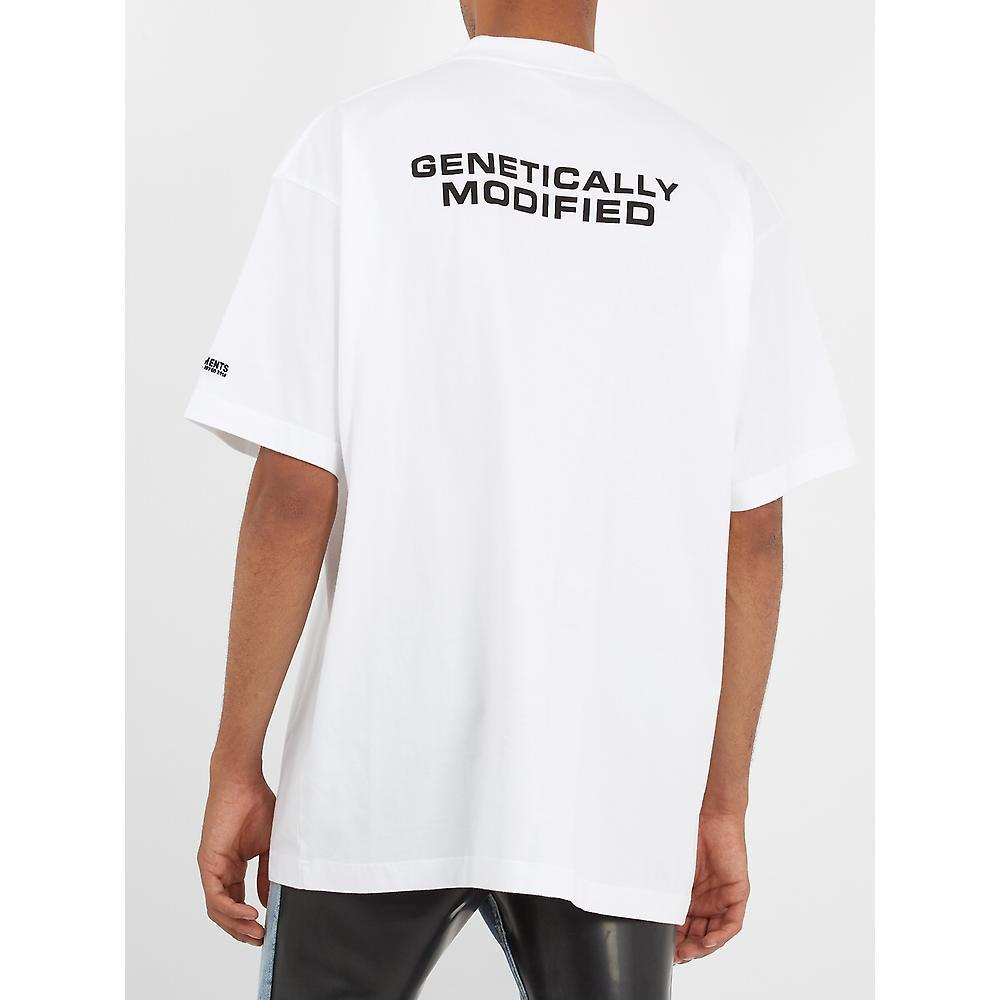 SALE★VETEMENTS(ヴェトモン)Genetically ModifiedTシャツ