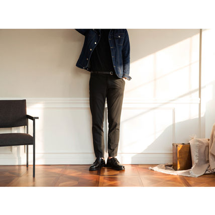 BSQT シューズ・サンダルその他 ★韓国の人気★BSQT★475 EASY-GOING WING TIP SHOES LUCY BLACK(4)
