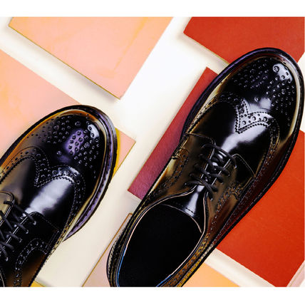 BSQT シューズ・サンダルその他 ★韓国の人気★BSQT★475 EASY-GOING WING TIP SHOES LUCY BLACK(9)