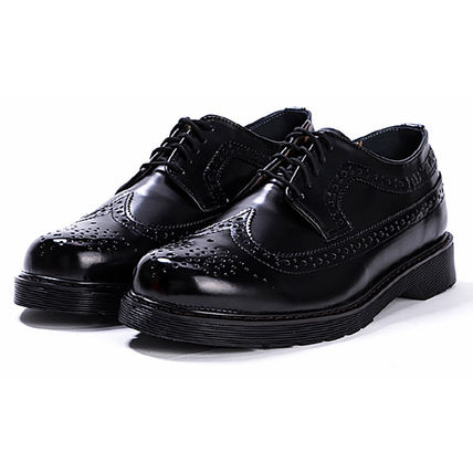 BSQT シューズ・サンダルその他 ★韓国の人気★BSQT★475 EASY-GOING WING TIP SHOES LUCY BLACK(10)
