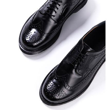 BSQT シューズ・サンダルその他 ★韓国の人気★BSQT★475 EASY-GOING WING TIP SHOES LUCY BLACK(11)