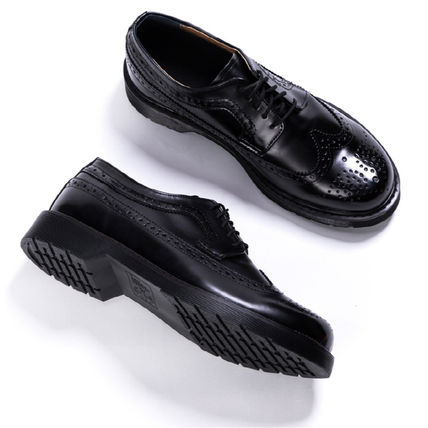 BSQT シューズ・サンダルその他 ★韓国の人気★BSQT★475 EASY-GOING WING TIP SHOES LUCY BLACK(12)