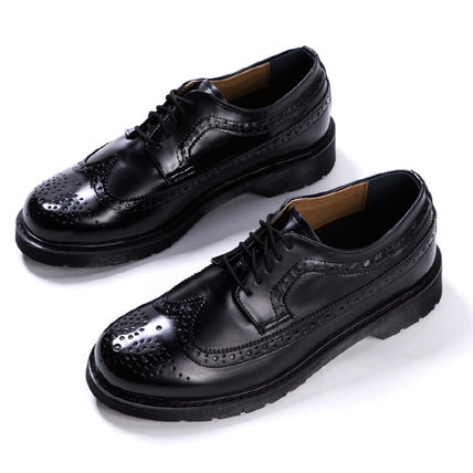 BSQT シューズ・サンダルその他 ★韓国の人気★BSQT★475 EASY-GOING WING TIP SHOES LUCY BLACK(13)