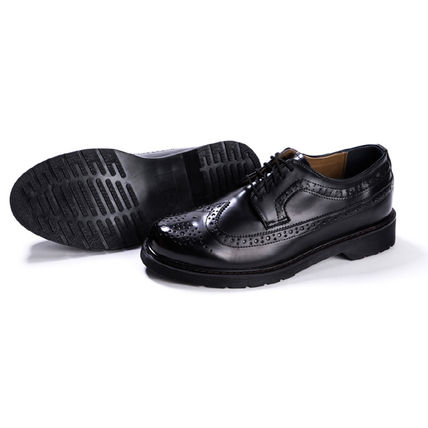BSQT シューズ・サンダルその他 ★韓国の人気★BSQT★475 EASY-GOING WING TIP SHOES LUCY BLACK(15)