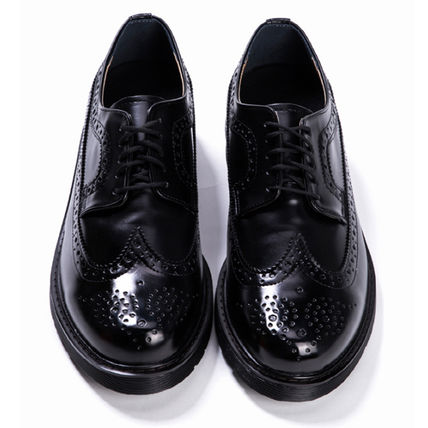 BSQT シューズ・サンダルその他 ★韓国の人気★BSQT★475 EASY-GOING WING TIP SHOES LUCY BLACK(16)