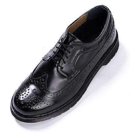 BSQT シューズ・サンダルその他 ★韓国の人気★BSQT★475 EASY-GOING WING TIP SHOES LUCY BLACK(17)
