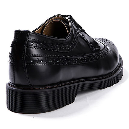 BSQT シューズ・サンダルその他 ★韓国の人気★BSQT★475 EASY-GOING WING TIP SHOES LUCY BLACK(18)