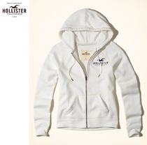 ★送料込★Hollister★Iconic Logo Graphic Full-Zip Hoodie★