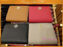 人気折財布!Tory Burch Robinson mini wallet選べる4色