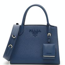 PR860 PRADA MONOCHROME SAFFIANO LEATHER SMALL BAG