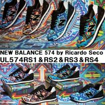 人気 コラボ★new balance 574 by Ricardo Seco collection★4色