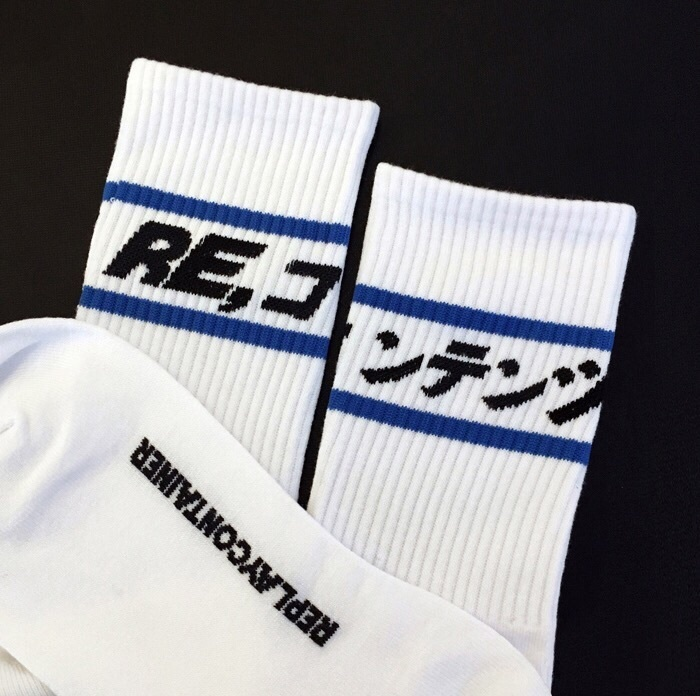 [REPLAYCONTAINER]BLUE LINE SOCKS [全2色☆]