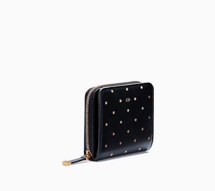 ◆DIOR Portefeuille French zippe Stars◆