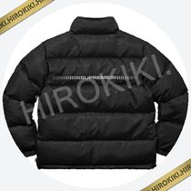 Sサイズ★Supreme Reflective Sleeve Logo Puffy Jacket Black